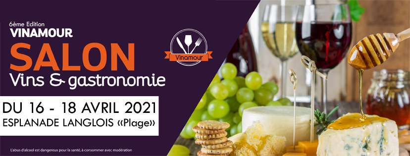 Salon vinamour printemps 2017 salon des vins et de la for Salon de la gastronomie orleans 2017